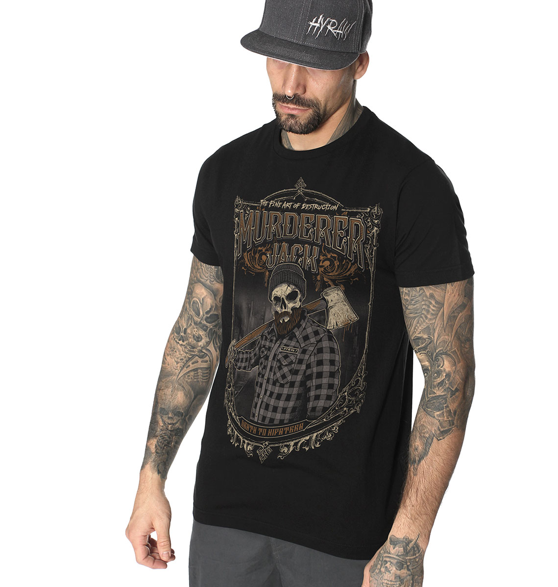 T-shirt DEATH 2 HIPSTERS